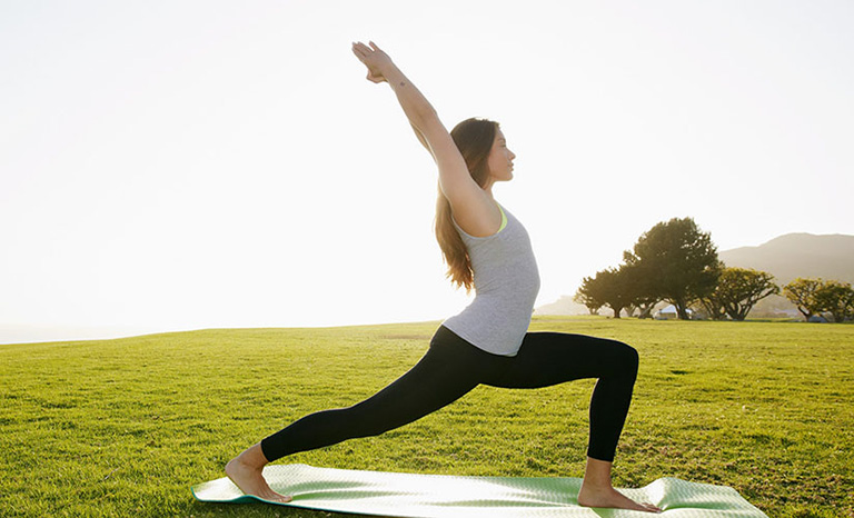 Yoga giúp đẩy lùi bệnh viêm phế quản