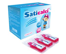 Thực phẩm bảo vệ sức khỏe Saticalci