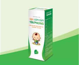 Thực phẩm bảo vệ sức khỏe Siro cảm cúm Tín phong