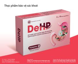 Thực phẩm bảo vệ sức khỏe DeHP