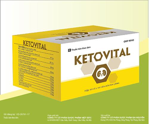 Thuốc Ketovital