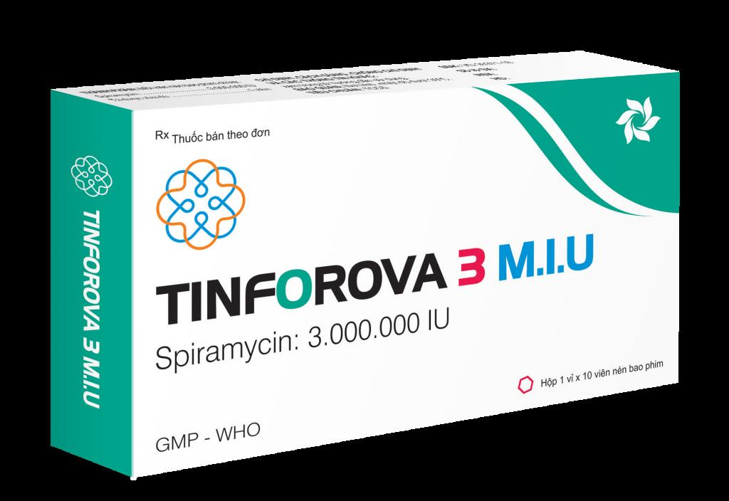 Thuốc Tinforova 3 M.I.U
