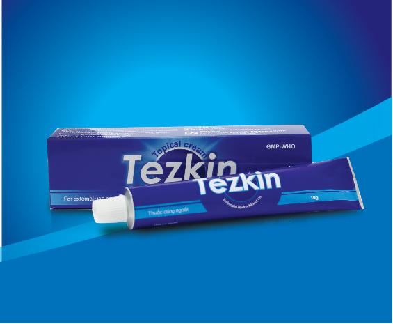 Thuốc bôi ngoài da Tezkin