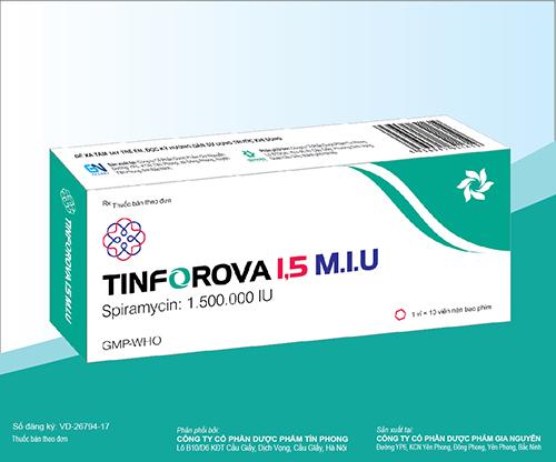 Thuốc Tinforova 1,5 M.I.U