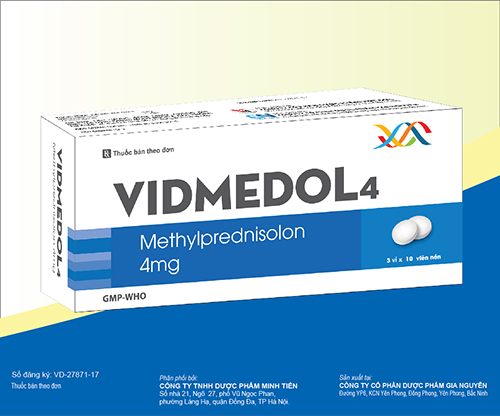 Thuốc Vidmedol 4