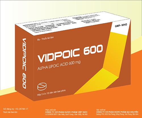 Thuốc Vidpoic 600