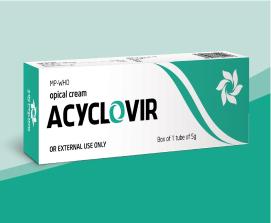Kem bôi da Acyclovir