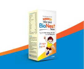 Thực phẩm bảo vệ sức khỏe Siro ăn ngon yến sào BioNest