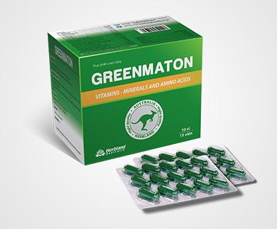 Thực phẩm chức năng Greenmaton