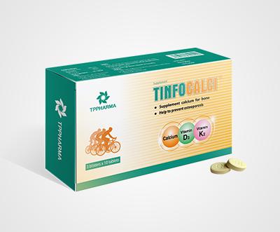 Thực phẩm chức năng Tinfocalci